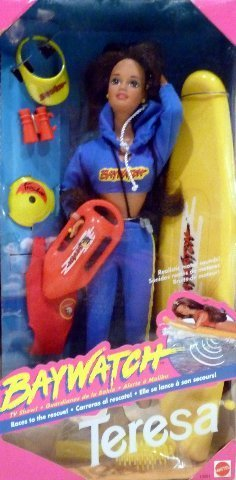 Nrfb Mint Box (Barbie Doll - Baywatch Teresa 1994 Mint in Box)