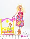 Pregnant for Barbie Doll,6PC,Have a Baby In Her Tummy ,Pregnant Tummy and Baby