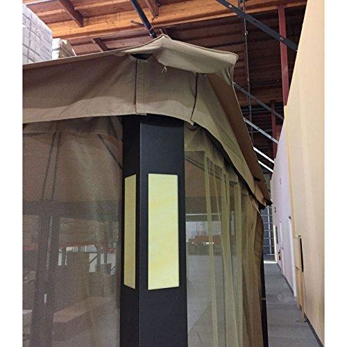 Grand Resort Audio Gazebo Replacement Canopy - RipLock 350 by Garden Winds (Image #4)