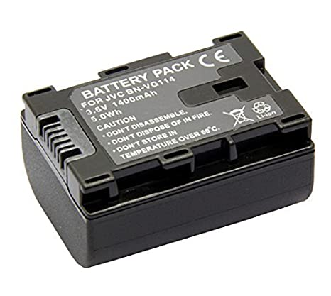 Amazon.com : Battery for JVC Everio GZ-HM35BU, GZ-HM40BU, GZ-HM65BU