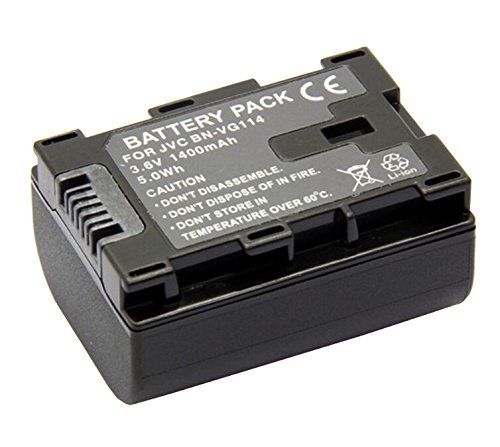Battery for JVC Everio GZ-HM300BU, GZ-HM320BU, GZ-HM340BU HD