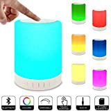 Best Night Light With Double Touches - Portable Night Light Bluetooth Speaker, WIRELESS Touch Controlled Review