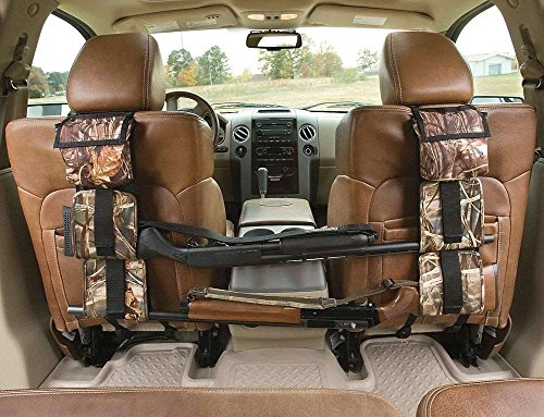 Hunting Gun Sling, Lumsing Car Seat Back Gun Sling Organizer for Rifle Hunting,Reed Camouflage (Gun Rack For Truck)