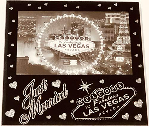 F-Novelties Just Married- Welcome fo Fabulous Las Vegas Picture Frame