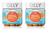Olly VCCNMVGM Essential Prenatal Multivitamin Gummy Supplement FOLIC Acid + Omega-3s, Vibrant Citrus, 60 Count, Pack of 2
