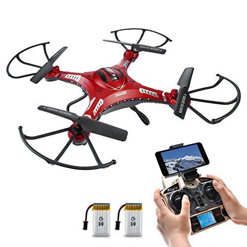 Potensic® F183W 2.4GHz 4CH 6-Axis Gyro RC Quadcopter Drone avec 2 mégapixels caméra HD, 360 degrés Eversion Fonction