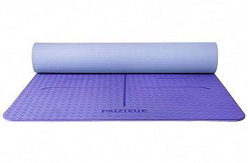 Cojines de yoga del resbalón no admiten TPE 6 mm de espesor ...