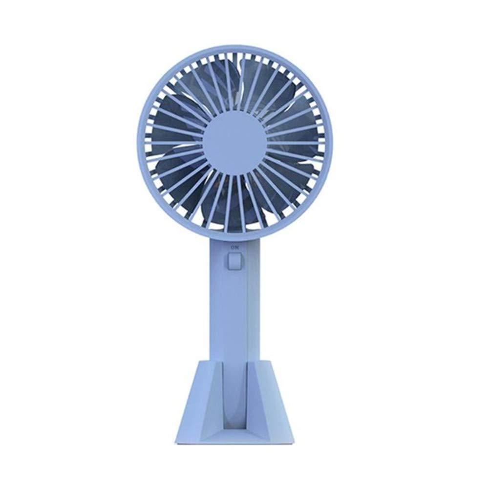Mini Fan USB Cooling Fan Handheld Summer Potable Air Cooler Rechargeable Handy Air Cooling Fan for Home Office Outdoor,b by Framy