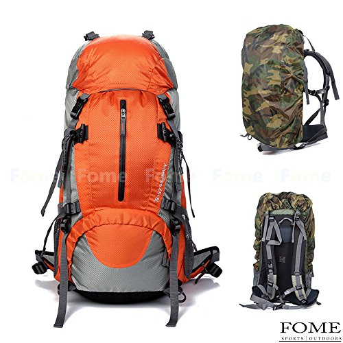 Backpack Rain Cover,FOME Nylon Backpack Rain Cover for Hiking Camping Traveling A FOME Gift