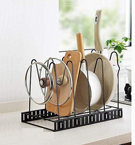 Pot Lid Holder Lid Organizer,Pot Lid Rack Storage,Pan Lid Cover Cabinet