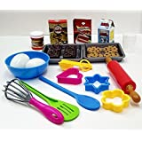 GoAppuGo Bakery Kitchen set For Role play toys for Kids - 30 pieces role play toys for girls, boys, kids for 2 or 3 or 4 year old