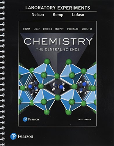 Laboratory Experiments for Chemistry: The Central Science]()