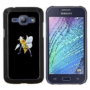 EJOOY---Cubierta de la caja de protección para la piel dura ** Samsung Galaxy J1 J100 ** --Beedrill P0kemon