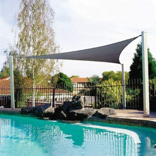 HEEGNPD Triángulo 2x2x2m Protector Solar a Prueba de Sol Sombrilla ...
