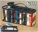 VHS STORAGE CARRY CASE - STORES UP TO 17 TAPES!