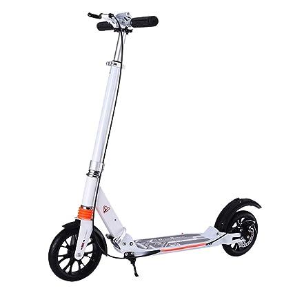 Patinetes de tres ruedas Scooters para Adultos con Manija De ...