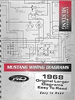 1995 mustang wiring diagram early model 1968 mustang wiring original larger diagrams easy to  1968 mustang wiring original larger