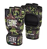 Leone 1947 MMA Gloves Camouflage Grappling Gloves Martial Arts Sparring Gloves Punching Bag Cage Fight Gloves UFC Combat Training Gloves (Large)
