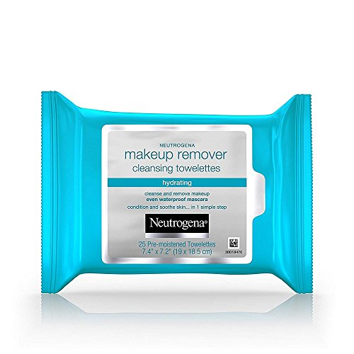 Hydrating Makeup Remover Facial Cleansing Wipes, 150 Wipes by Neutrogena