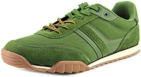 Tommy Hilfiger Men's NEWMAN2 Suede Sneakers Light Green