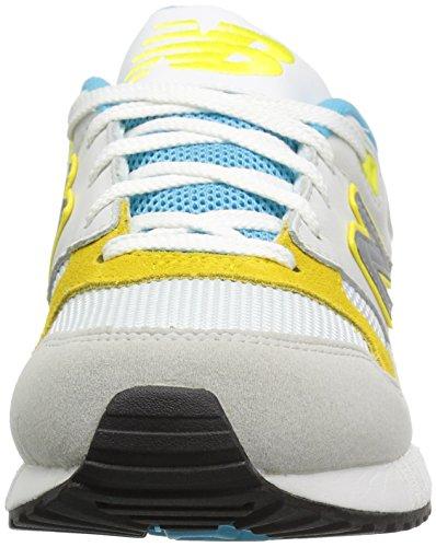 New Balance Damen Wl530v1 Sneakers Bianco (Weiß (White/Blue/Yellow))