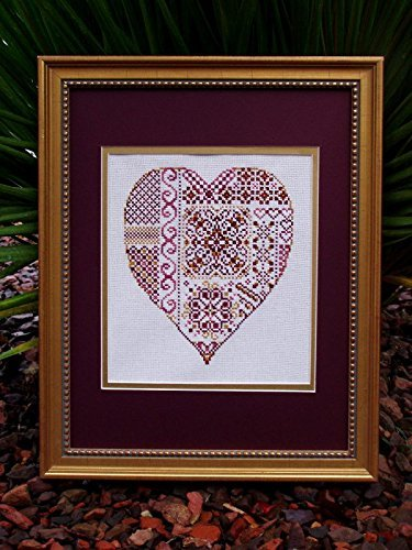 Chart (Printed Pattern ONLY) for Valentine's Counted Cross Stitch