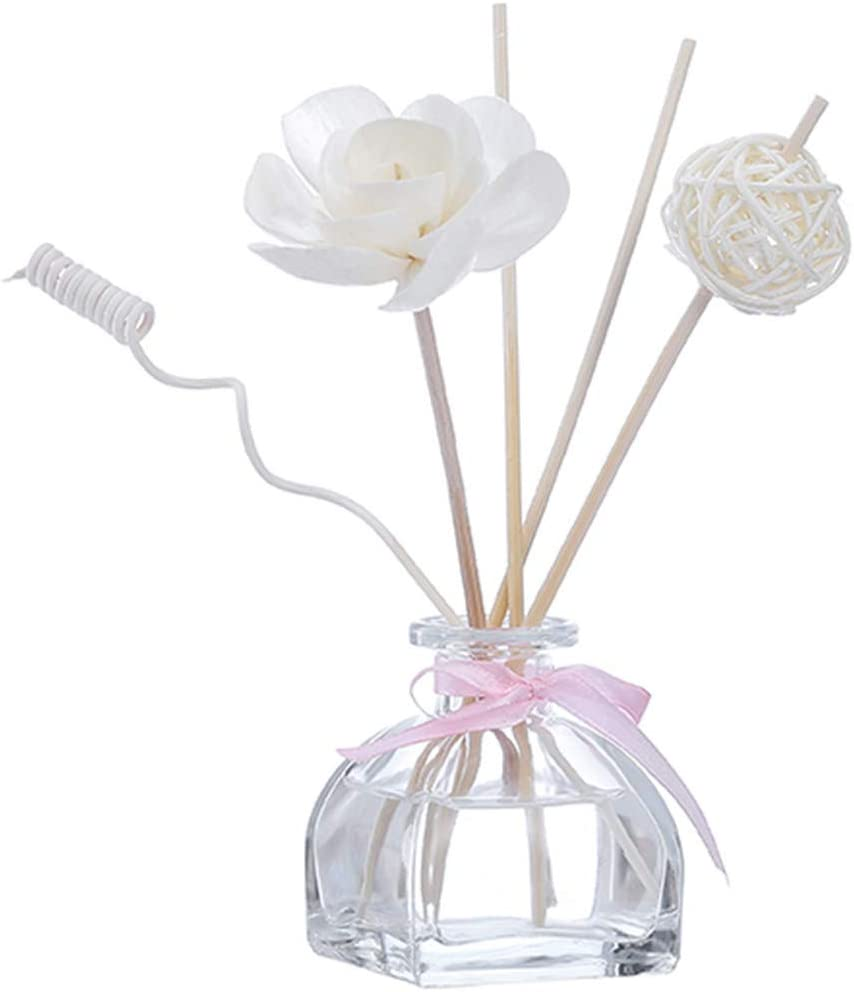 Golike Essential Oil Set Home Aromatherapy Bedroom Bathroom Toilet Perfume Deodorant No Fire Rattan Aromatherapy 55ML