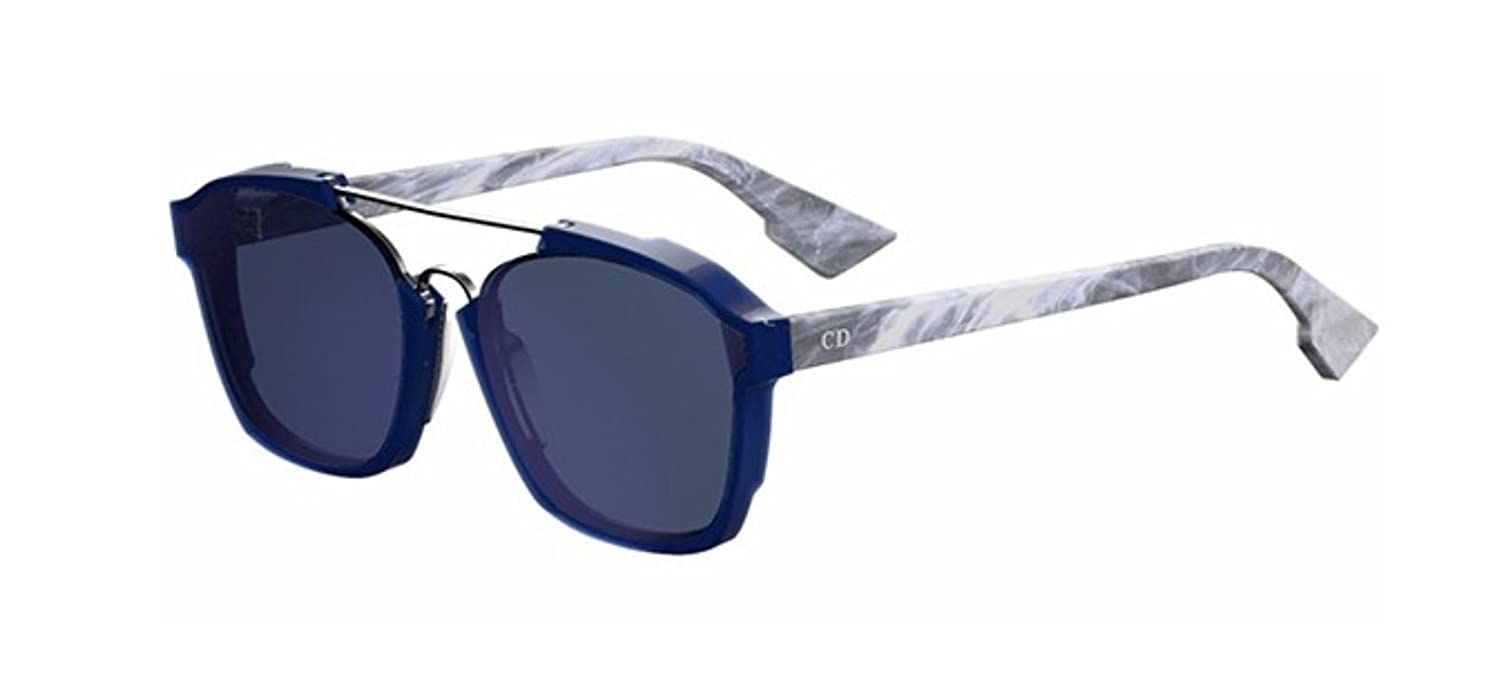 e7097b6e85c9d Amazon.com  New Christian Dior ABSTRACT UDP A9 Blue Grey Marble Sunglasses   Clothing