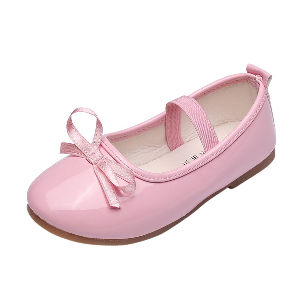 bc8a6653b92ab Zerototens Baby Girls Little Princess Shoes for 3-9 Years Old Kids ...