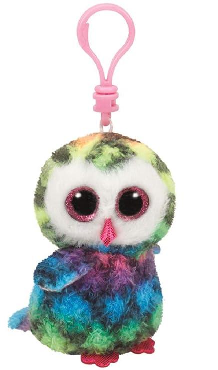 Amazon.com  Ty - TY35025 - Beanie Boo s - Keychain - Owen The Owl ... 1fae5b2cef8e