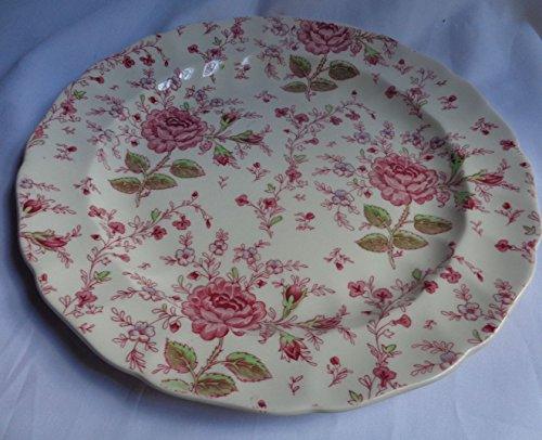 Johnson Brothers Rose Chintz Ceramic Cake - Plate Chintz Cake