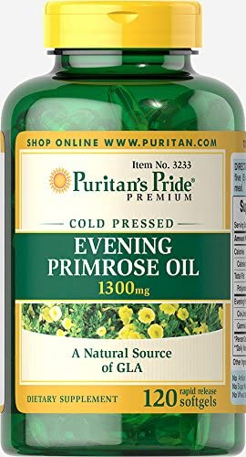 Puritans Pride Evening Primrose Oil 1300 mg