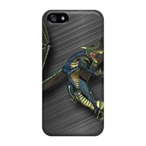 New Style HighLifeNest Dragon Fantasy Premium Tpu Cover Case For Iphone 5/5s