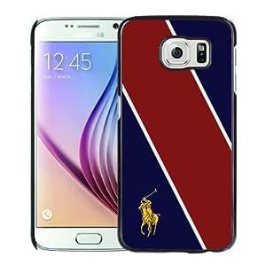 Samsung Galaxy S6 Case ,Lauren Ralph Lauren 19 Black Unique And Beautiful Custom Designed Phone Case