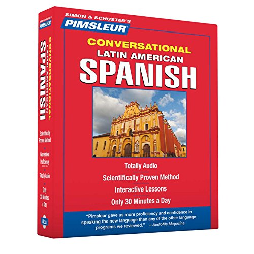 Pimsleur Spanish Conversational Course - Level 1 Lessons 1-16 CD: Learn to Speak and Understand Latin American Spanish with Pimsleur Language Programs (English and Spanish Edition) by Brand: Pimsleur (Image #1)