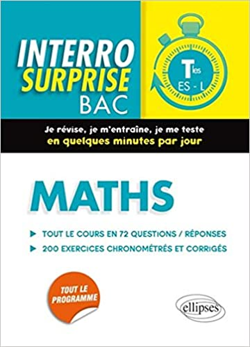 Lire un Interro Surprise Maths Terminales ES-L pdf, epub ebook