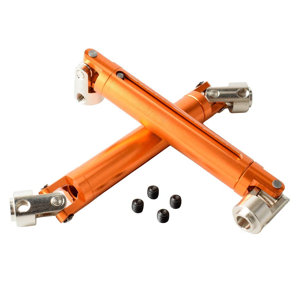 Orange Alum Universal Driven Dogbone for HSP 1:10 Rock Crawler Toyoutdoorparts RC 180011 18027