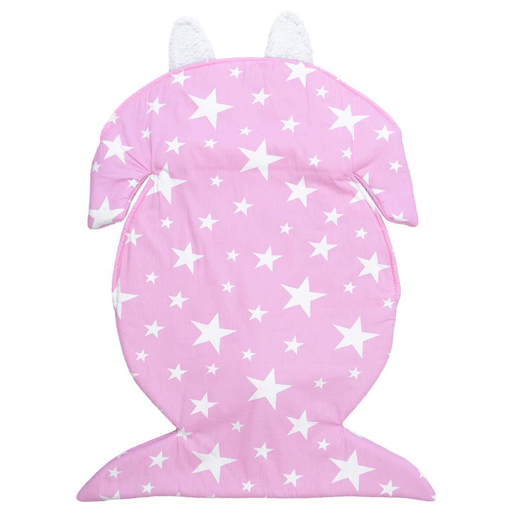 Fityle 幼児用スワドル寝袋 ソフト寝袋 ベビーカーラップ 寝袋   B07JDJ31G6