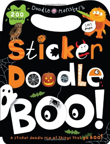 Sticker Doodle Boo!: Things that Go Boo! With Over 200 Stickers