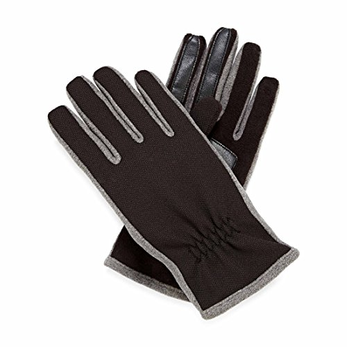 Isotoner Womens SmarTouch Thermaflex Lined Fleece Gloves - Oxford Heather - M/L