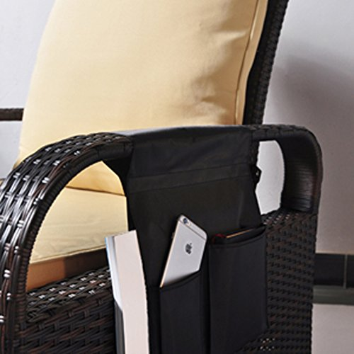 Tv Remote Control Organizer Holder Drapes Over Recliner