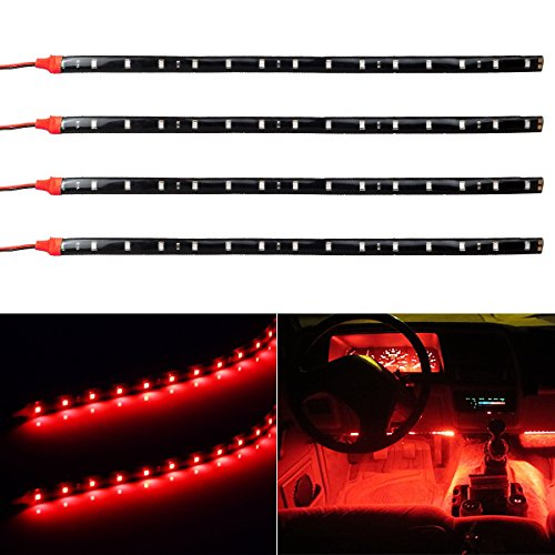 neon lights red cars - 8