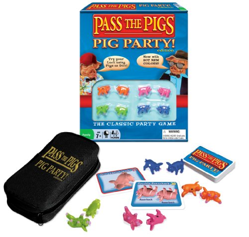 Pass The Pigs (Party Edition) (Colors May Vary) (Pig Board Game compare prices)