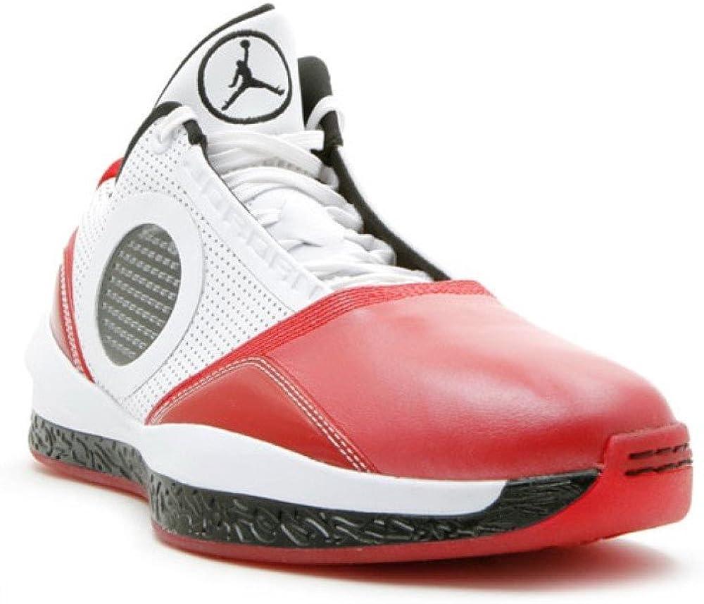 Nike Air Jordan 2010 Welcome Home White//Red QS 5-7 Y