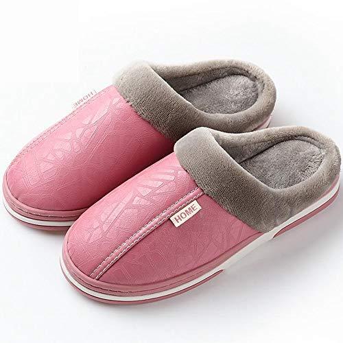 De Interiores De Amantes Las Zapatos Mujer Cuero Cálidas Cálidas Cuero 2018 De d5b43b