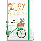 Molly & Rex Doggie Enjoy The Ride Small Bungee Journal by Molly & Rex