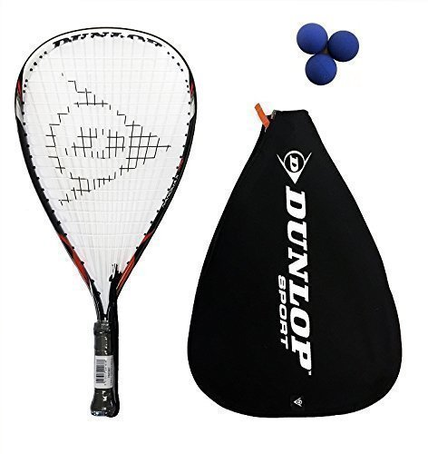 Dunlop Nanomax Pro raquetbol + 3 pelotas Dunlop £165