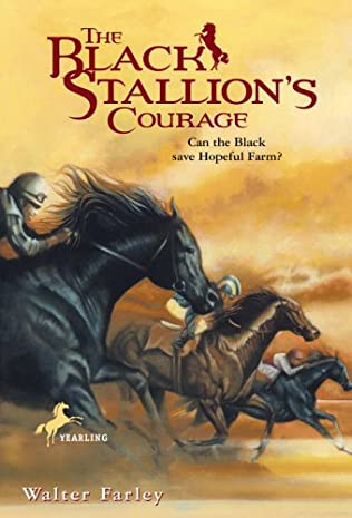 book cover of The Black Stallion\'s Courage