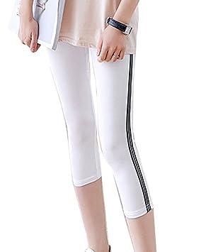 Guiran Pantalones Cortos para Mujer Elásticos Malla Fitness ...