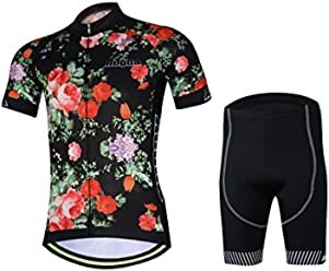 305c364acde Men s Aogda Cycling Jersey 4D Padded Quick Dry Bicycle Bike Riding Clothing  Wears Short Sleeve Cycle